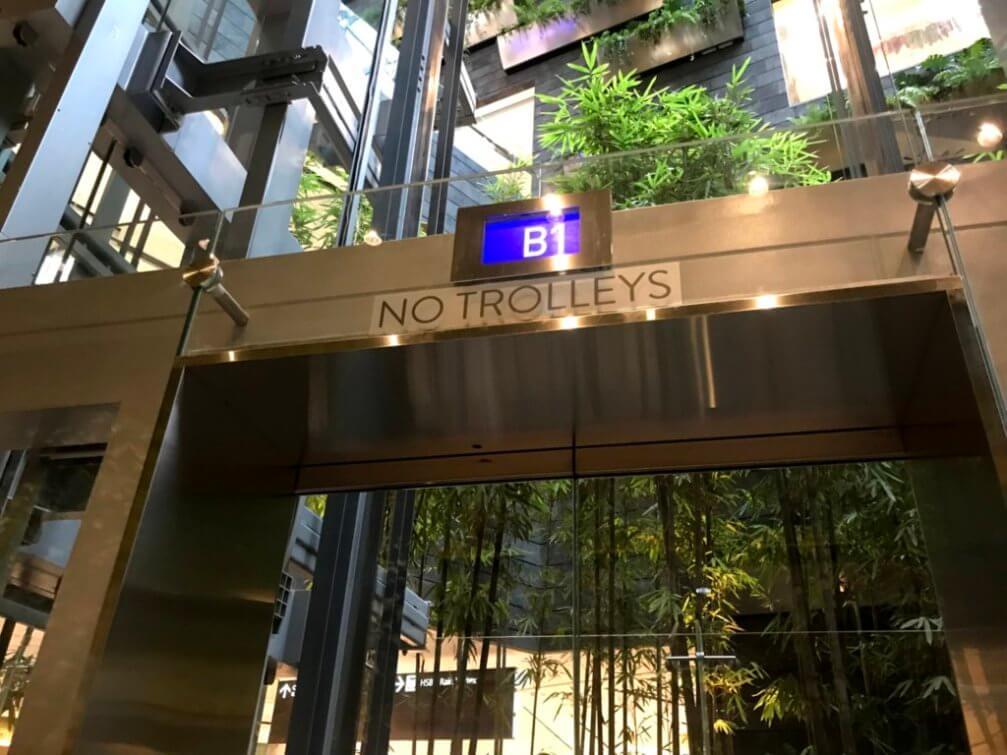画像19 通路のエレベーター
