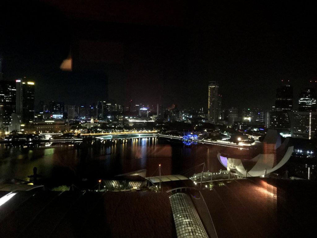 部屋からの景色 深夜