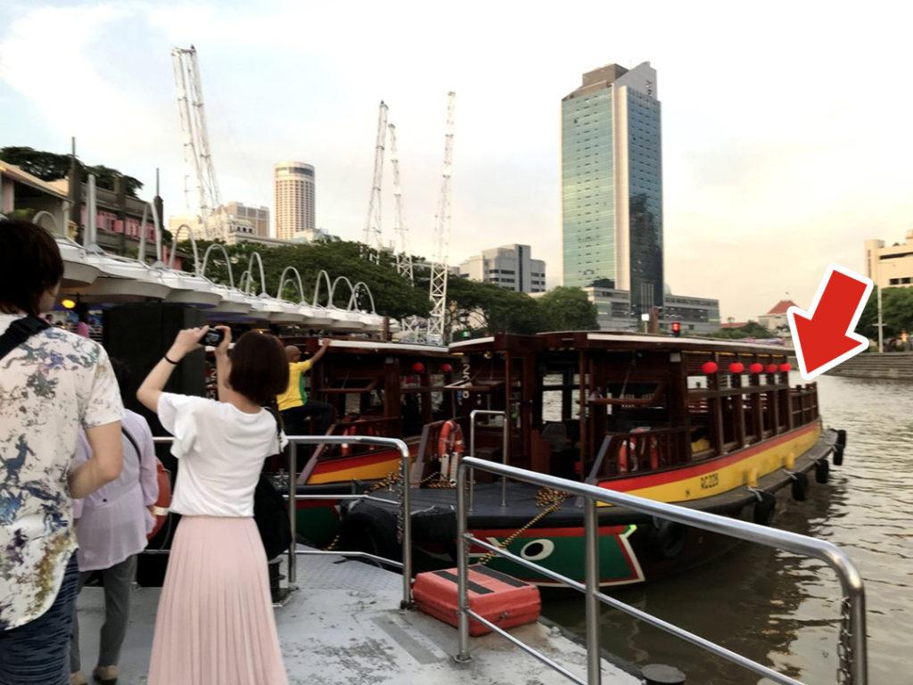 リバーボートは奥の屋根がないところが解放感があっておすすめ!