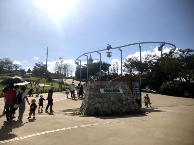 生駒山上遊園地入口