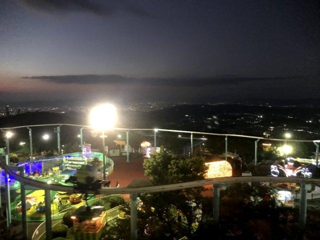 飛行塔からの景色